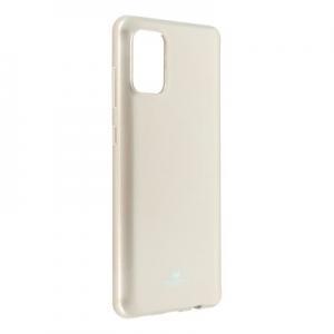 Pouzdro MERCURY Jelly Case iPhone 12, 12 Pro (6,1) zlatá