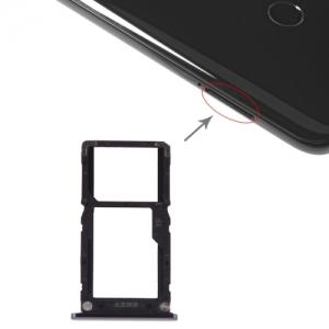 Držák (šuplík) SIM Xiaomi Mi 8 LITE black