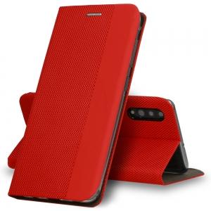 Pouzdro Sensitive Book Samsung A217 Galaxy A21s, barva červená