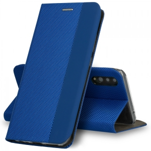 Pouzdro Sensitive Book Xiaomi Mi 10, Mi10 Pro, barva modrá