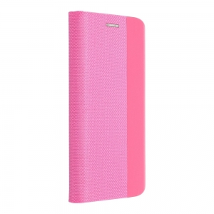 Pouzdro Sensitive Book iPhone 12 Mini (5,4), barva růžová