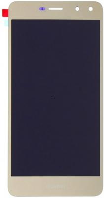 Dotyková deska Huawei Y6 (2017) + LCD zlatá