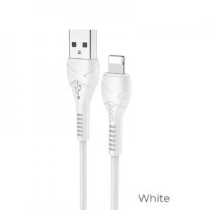 Datový kabel HOCO X37 Lightning barva bílá - 1 metr