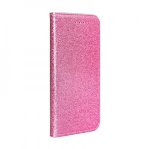 Pouzdro Shining Book Samsung A405 Galaxy A40, barva růžová