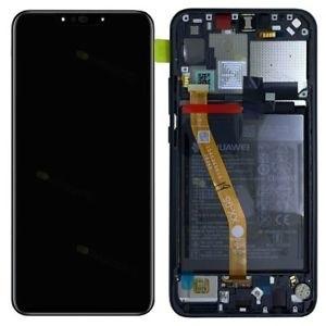Dotyková deska Huawei NOVA 3i (P Smart plus) + LCD s rámečkem černá (SERVICE PACK)