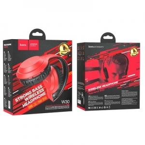 Bluetooth Sluchátka HOCO W30 Fun move, barva červená