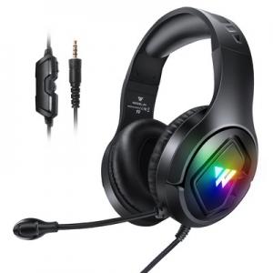 Sluchátka Wintory M1, barva černá s mikrofonem