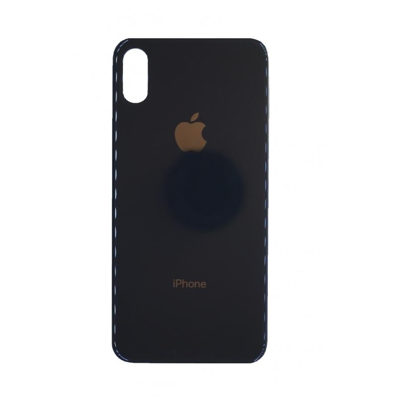 Kryt baterie iPhone X (5,8) barva black - Bigger Hole