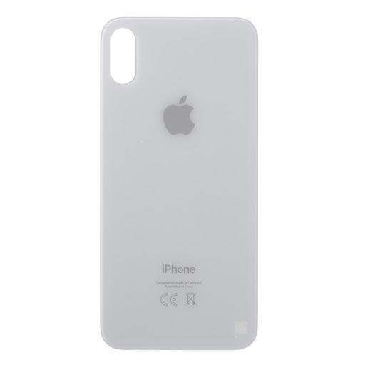 Kryt baterie iPhone X (5,8) barva white - Bigger Hole