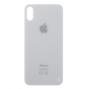 Kryt baterie iPhone X (5,8) barva white - Bigger Hole