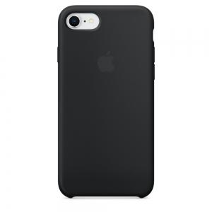 Silicone Case iPhone 7, 8, SE (2020) black MMQX2FE/A (blistr)