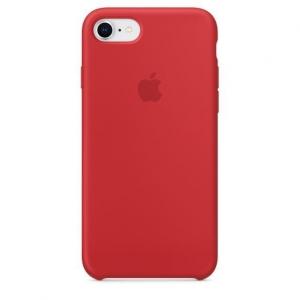 Silicone Case iPhone 7, 8, SE (2020) red MMQU2FE/A (blistr)