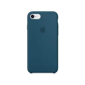 Silicone Case iPhone 7, 8, SE (2020) cosmos blue MR692FE/A (blistr)