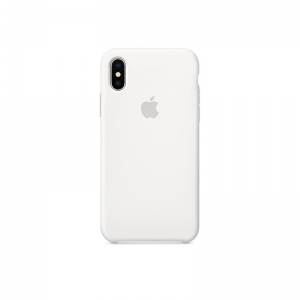 Silicone Case iPhone X, XS white MMQK2FE/A (blistr)