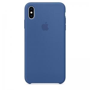 Silicone Case iPhone X, XS delft blue MNRL2FE/A (blistr)