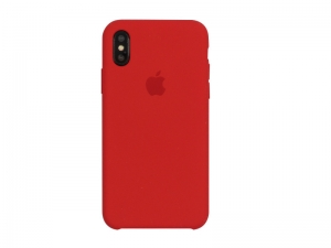Silicone Case iPhone X, XS red MRWC2FE/A (blistr)
