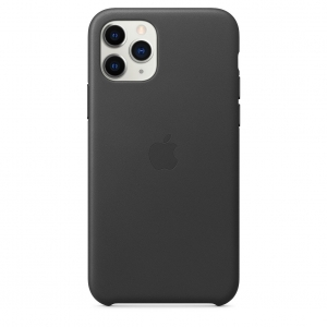 Silicone Case iPhone 11 PRO MAX black MWY1NFE/A (blistr)