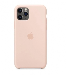 Silicone Case iPhone 11 PRO MAX pink sand MPYP2FE/A (blistr)