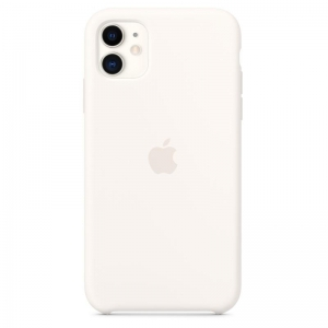 Silicone Case iPhone 11  white MWY32FE/A (blistr)