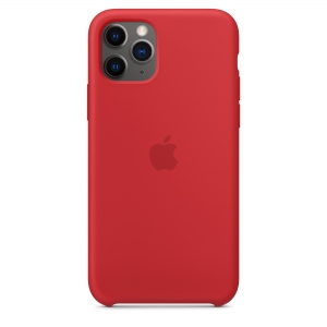 Silicone Case iPhone 11 PRO  red MWY52FE/A (blistr)