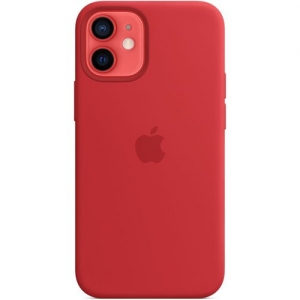 Silicone Case iPhone 12 mini red MHL08FE/A (blistr)