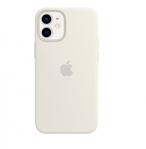 Silicone Case iPhone 12 PRO MAX white MHN07FE/A (blistr)