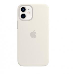 Silicone Case iPhone 12, 12 PRO white MHLX3FE/A (blistr)