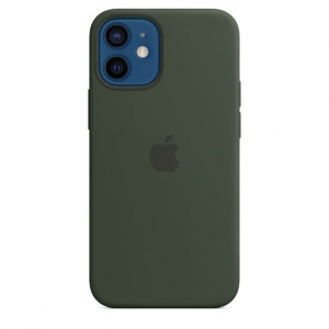 Silicone Case iPhone 12, 12 PRO cyprus green MHL33FE/A (blistr)