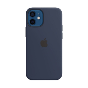 Silicone Case iPhone 12, 12 PRO deep navy MHL23FE/A (blistr)