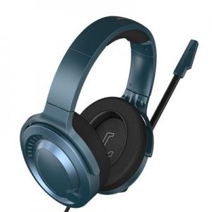Sluchátka Baseus Gaming s mikrofonem, barva modrá