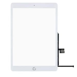 Dotyková deska Apple iPad 7 (10.2) 2019 bílá originál + tlačítko HOME + Lepítka