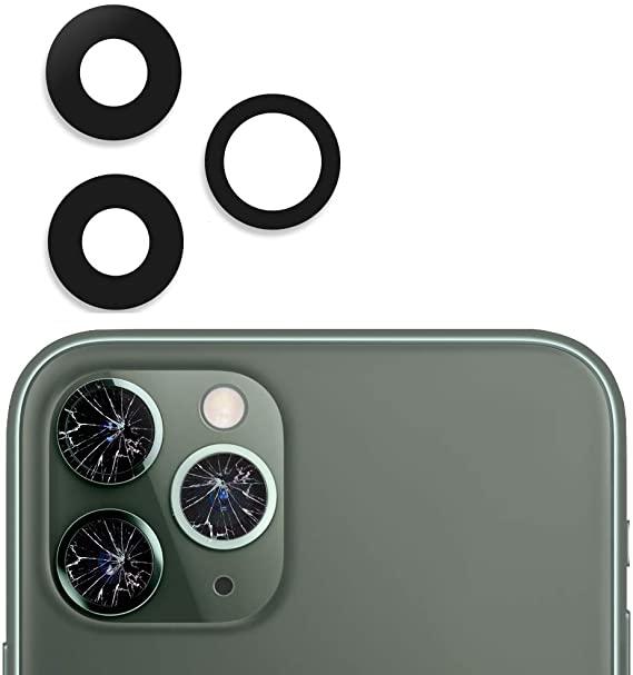 Sklíčko zadní kamery iPhone 11 PRO bez rámečku černá
