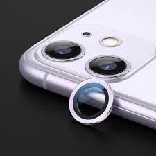 Sklíčko zadní kamery iPhone 11 + rámeček fialová