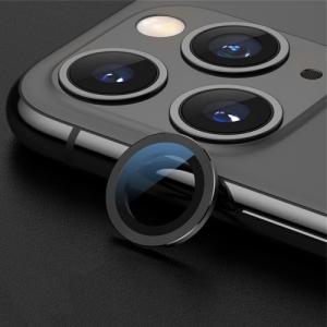 Sklíčko zadní kamery iPhone 11 PRO + rámeček černá