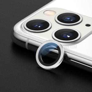 Sklíčko zadní kamery iPhone 11 PRO + rámeček stříbrná