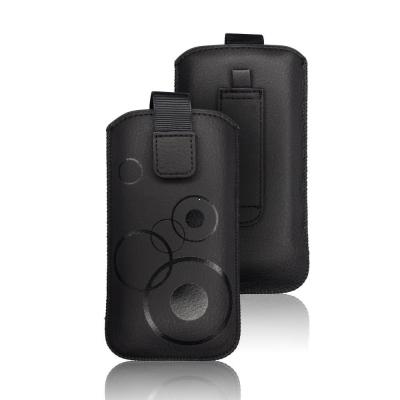 Pouzdro DEKO Samsung i9300, i9500, i9505, iPhone 6, LG L9, Nok 920, 625 barva černá