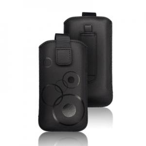 Pouzdro DEKO iPhone 12 Mini (5.4), iPhone 6, 7, 8, SE 2020, Samsung i9300, i9500, A3 barva černá