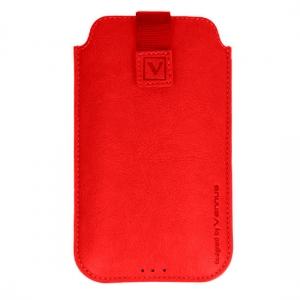 Pouzdro DEKO iPhone 5, 5S, Nokia 225 - Vennus barva červená