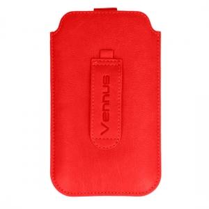 Pouzdro DEKO iPhone 7, 8, SE 2020 - Vennus barva červená