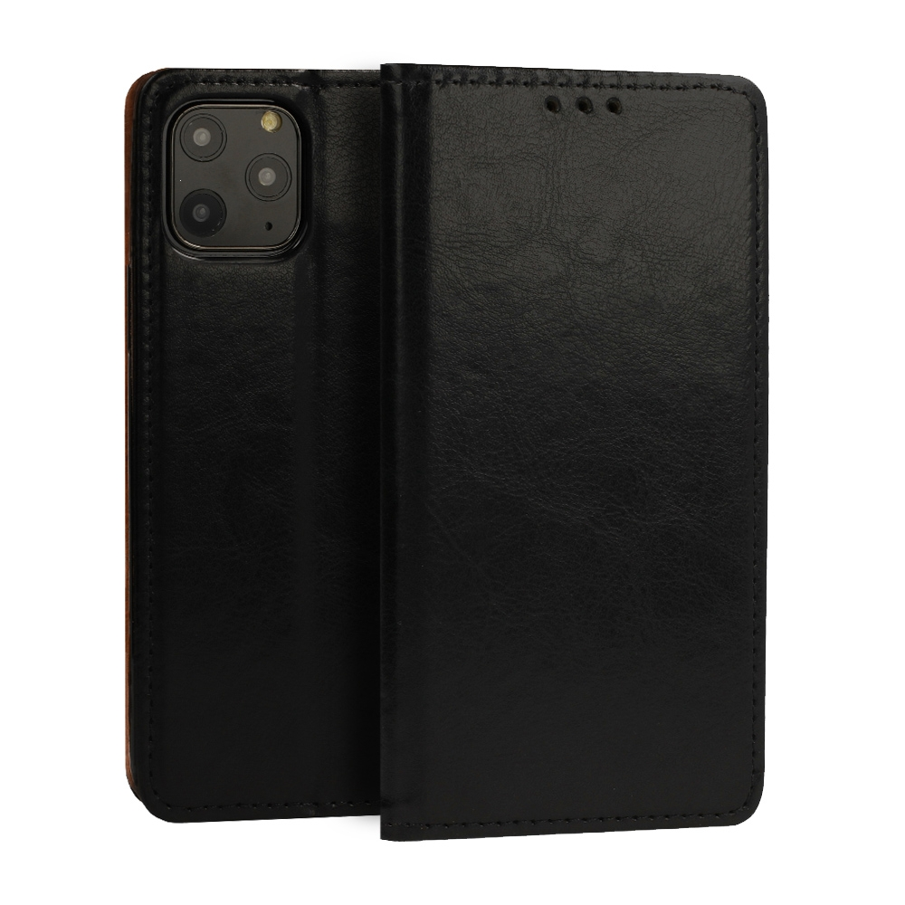 Pouzdro Book Leather Special Samsung A207 Galaxy A20s, barva černá