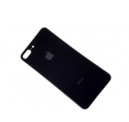 Kryt baterie iPhone 8 PLUS (5,5) barva black / grey - Bigger Hole