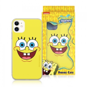 Pouzdro iPhone 12, 12 Pro (6,1) Sponge Bob, vzor 007