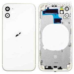 Kryt baterie + střední iPhone 11 (6,1) originál barva white