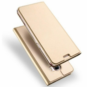 Pouzdro Dux Duxis Skin Pro Xiaomi Redmi Note 9 5G, Note 9T, barva zlatá