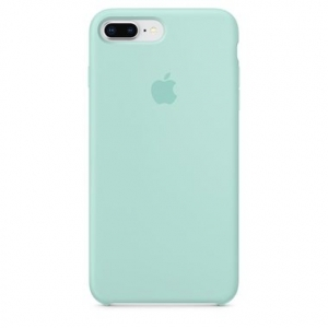 Silicone Case iPhone 7, 8, SE (2020) marine green MMFH2FE/A (blistr)