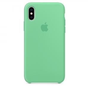 Silicone Case iPhone X, XS spearmint MFM12FE/A (blistr)