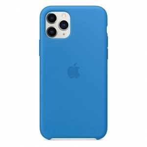 Silicone Case iPhone 11 PRO MAX surf blue MXW82FE/A (blistr)