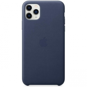 Silicone Case iPhone 11 PRO MAX midnight blue MWY1NFE/A (blistr)