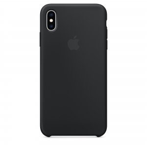 Silicone Case iPhone XS MAX black MXVN2FE/A (blistr)