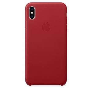 Silicone Case iPhone XS MAX red MRKN2FE/A (blistr)